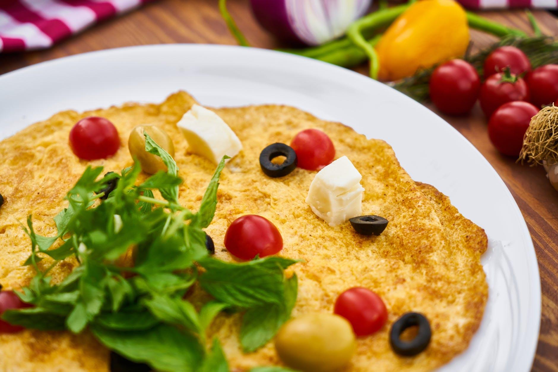 Omeleta na slano