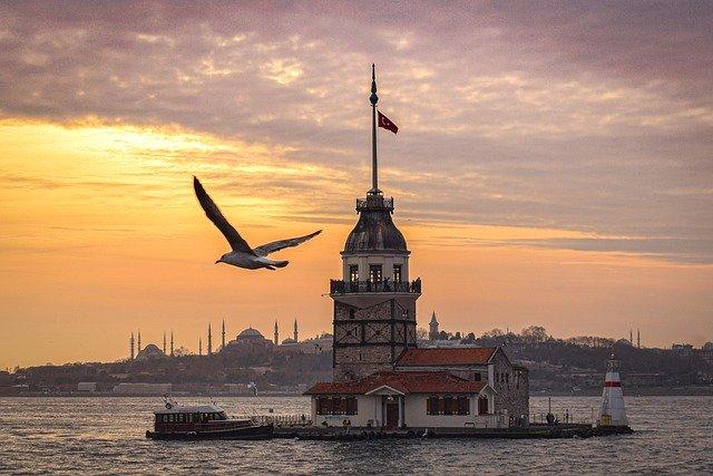 ostrov v Istanbulu