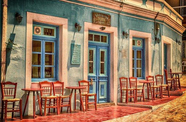 řecká kavárna