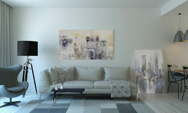 Moderní obývací pokoj